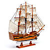 Модель парусного корабля Bounty из дерева 50 см S5005, фото 6