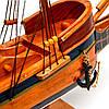 Модель парусного корабля Bounty из дерева 50 см S5005, фото 7