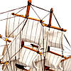 Модель парусного корабля Bounty из дерева 50 см S5005, фото 9