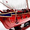 Модель корабля из дерева Prince 1670 80см EG8346-80, фото 7