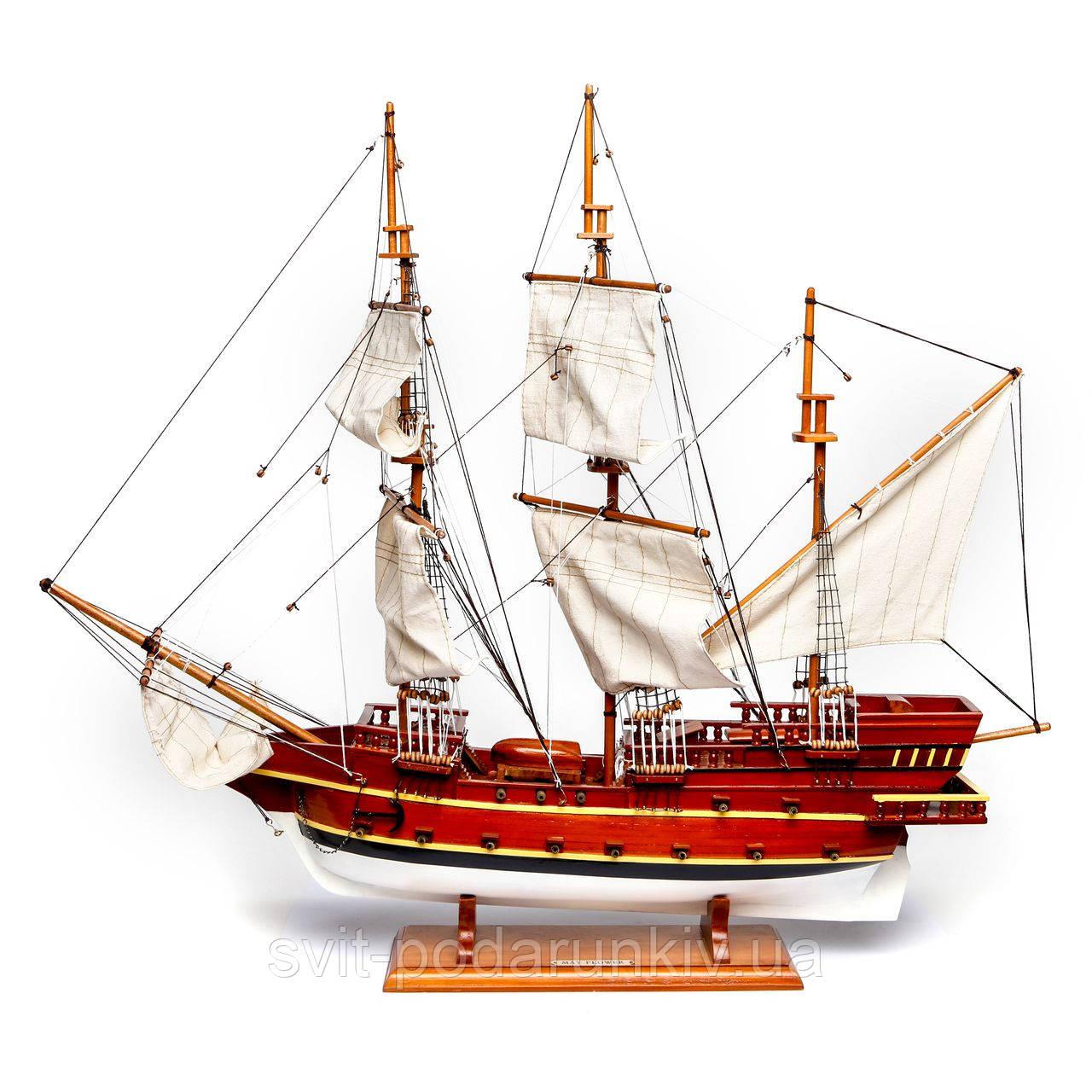 Деревянная модель корабля MAY FLOWER 90 см 608S90