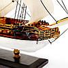 Модель парусного корабля Royal Caroline 30 см С03S3, фото 6