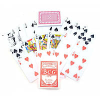 Карты игральные покерные атласные Duke BCG 54 листа 87х62 мм DN22886A, КОД: 717735