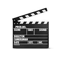Кинохлопушка MLux WB-002 PREMIUM 32.5 x 26 x 1 Черная c магнитом на английском языке, КОД: 1312344