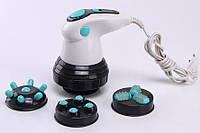 Инфракрасный ручной массажер SUNROZ Body Innovation Sculptural антицелюлитный для тела Бело-Бирюз, КОД: 108529