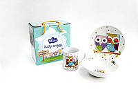Детский набор столовой посуды для завтрака Milika Sweet Dreams M0690-TH5761na, КОД: 1160295