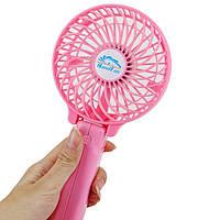 Вентилятор ручной аккумуляторный Plymex HF-308 Розовый mt-302, КОД: 1198149