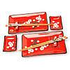 """Подарочный набор для суши """"Сакура"""" S150-1, фото 2"""