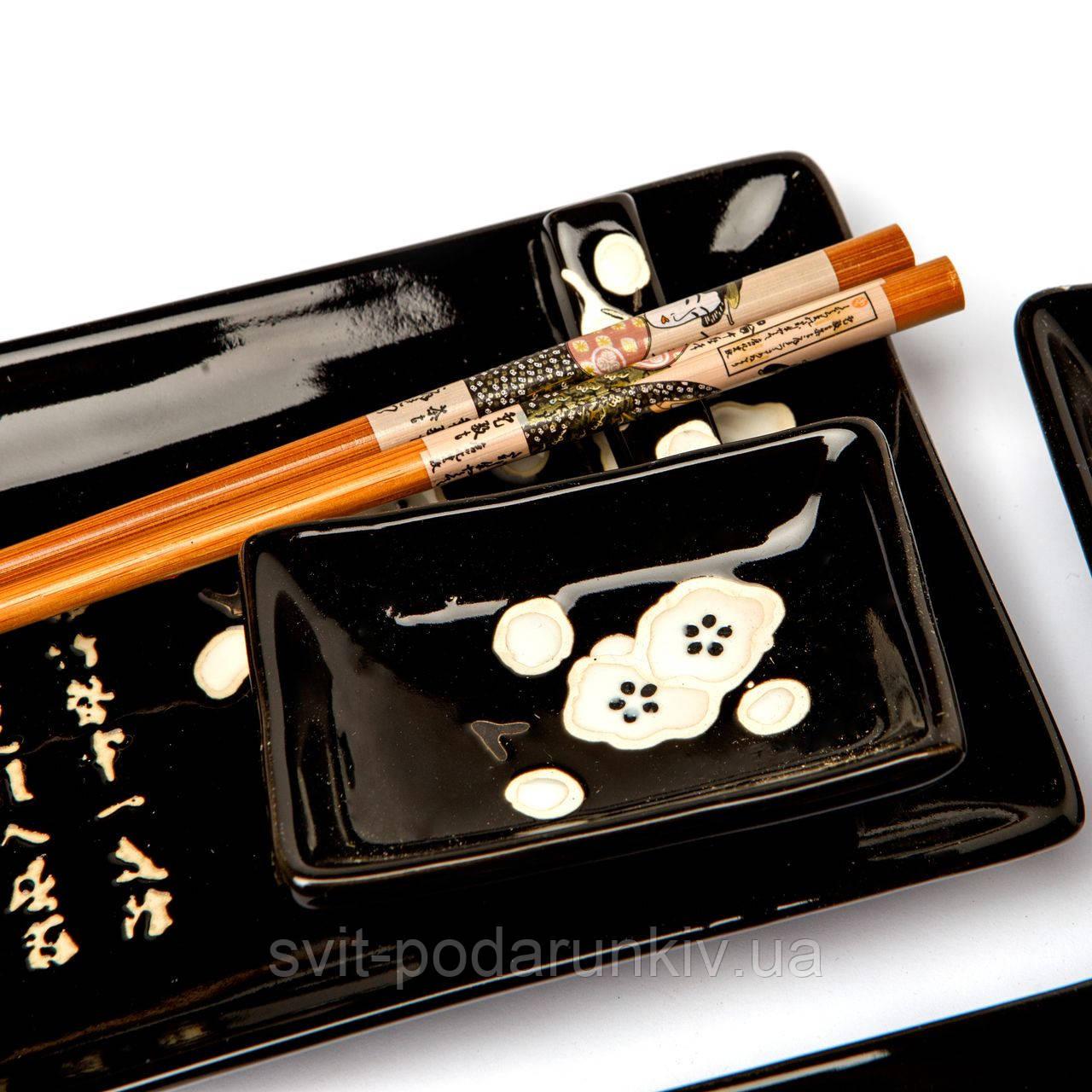 японская посуда для суши