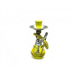 Кальян Huka 17 см Желтый DN23928, КОД: 1128125