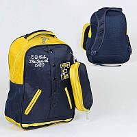Рюкзак школьный C 36206 50 1 отделение, 3 кармана, пенал, мягкая спинка - 220653