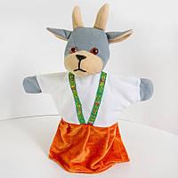Игрушка-рукавичка Kronos Toys Коза zol322, КОД: 120595