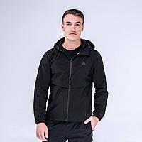 Куртка ветрозащитная мужская Peak Sport FW293027-BLA 2XL Черная 6941123626170, КОД: 1345658