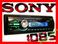 USB-SD-FM-AUX Автомагнитола SONY 1085B съёмная панель, читает папки