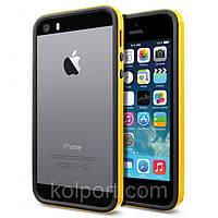 Чехол бампер для смартфона SGP Neo Hybrid для iPhone 5, 5S