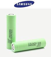 Фирменный аккумулятор Samsung 3.7V 18650, 2600 mAh для шокера, фонарика