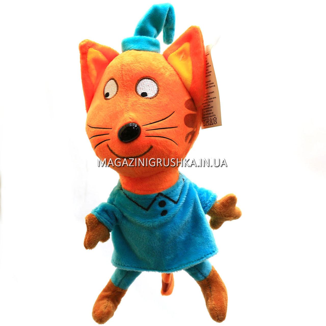 Мягкая игрушка «Три кота». Любимая игрушка 24956-3 Компот - 25 см