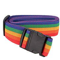 Багажный ремень R82839 на чемодан 4 м Разноцветный 006548, КОД: 949548