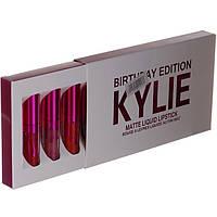 Набор из 6 матовых помад Kylie 2 590043492, КОД: 157478