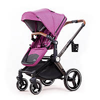 Дитяча коляска 2в1 Ninos Alba Purple NA2018DP, КОД: 126018