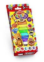 Комплект креативного творчества Тесто для лепки Master Do 10 цветов na.7550DT, КОД: 1297545