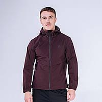 Куртка ветрозащитная мужская Peak Sport FW293027-RED 3XL Бордовый 6941123628037, КОД: 1345659