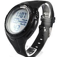Часы с шагомером Skmei 1122 Black 1122BKB, КОД: 974320