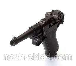 Пистолет пневматический KWC Parabellum P-08 (KMB-41DHN), фото 3