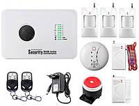 Комплект сигнализации Kerui alarm G10c Prof для 2-комнатной квартиры WTDF196FRHV, КОД: 1335636