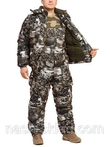 Зимний рыбацкий и охотничий костюм Снежный лес, фото 2