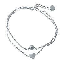 Серебряный браслет SilverBreeze без камней 17-20 см 1994306, КОД: 1195840