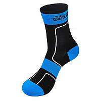 Спортивные термоноски NUCKILY PF12 One size Черные с синим, КОД: 1298376