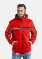 Мужская демисезонная куртка RiccardoТ2 XL Красная 3rc00452, КОД: 1289571