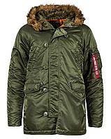 Куртка Alpha Industries Slim Fit N-3B S Sage Orange, КОД: 1313214