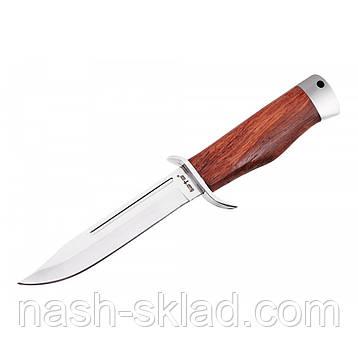 Нож боевой финка разведчика НКВД, упор под палец, удобная рукоять, фото 2