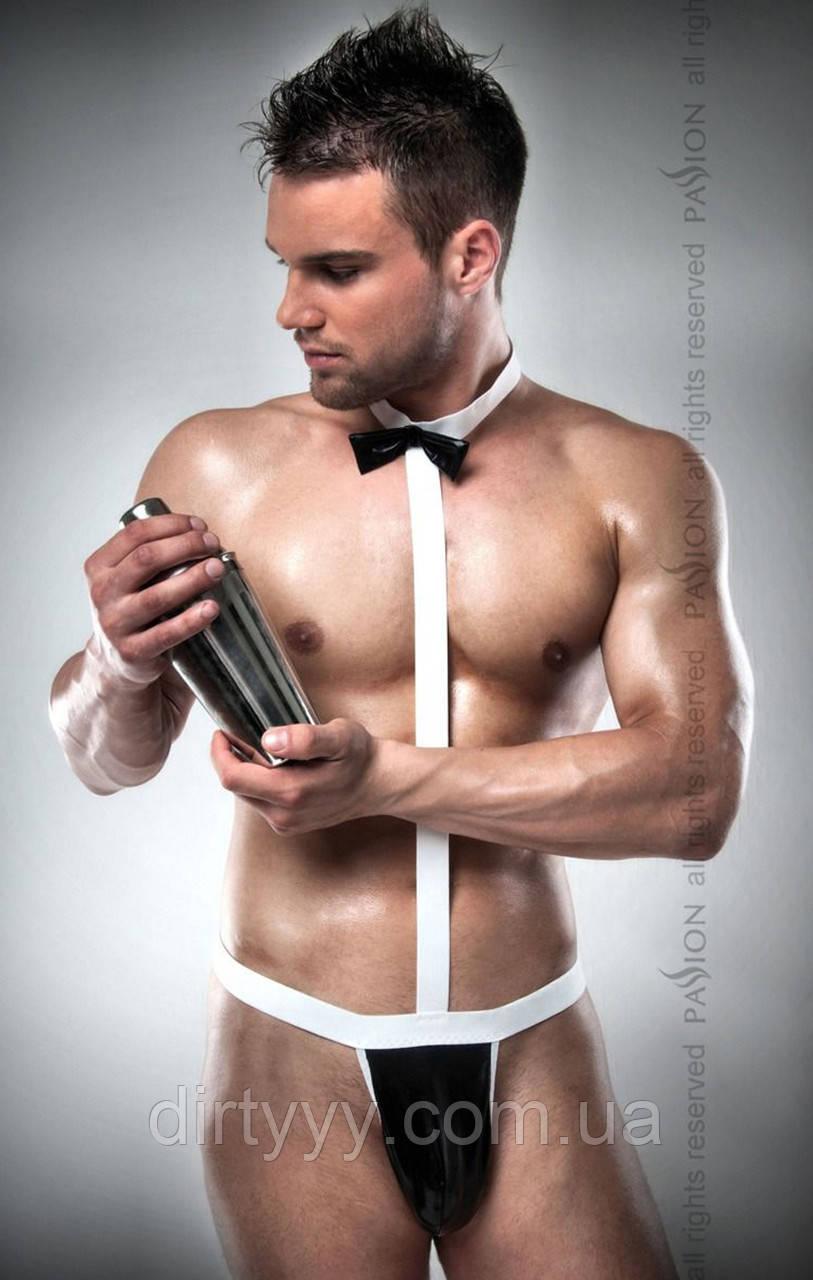 Мужской ролевой костюм - 021 BODY, цвет: черно-белый