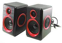 Колонки для компьютера FT FT-165 Black Red 006300, КОД: 949949