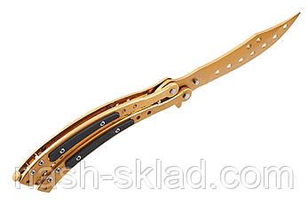 Нож балисонг, тактический ножик бабочка Меркурий, фото 2