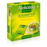 Чай зеленый Alokozay 100 пакетов 11-363, КОД: 1339643
