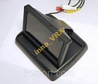 Цветной монитор 4.3 под камеру заднего вида 2 входа (или другой источник видеосигнала с 2 видеовходами) 2014 г