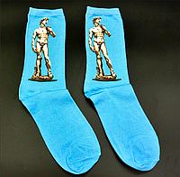 Крутые носки Давид Микеланджело Hot Sox, фото 1