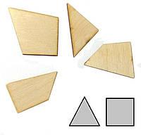 Головоломка деревянная Треугольник Крутиголовка krut0187, КОД: 120248