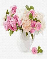 Картина Brushme по номерам Нежный букет цветов 40 x 50 cм def.GX29428, КОД: 1341269