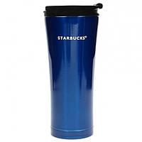 Термокружка Starbucks 500 мл Синяя 107277Bl, КОД: 384282