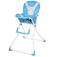 Детский стульчик для кормления Bambi Q01-CHAIR-4 Голубой intQ01-CHAIR-4, КОД: 123650