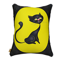 Мягкая антистрессовая подушка Цацки-Пецки Кошка 180142, КОД: 1204010