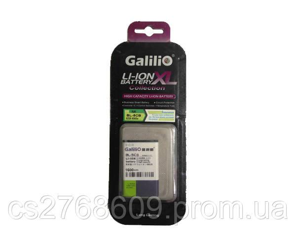 Батарея / Акумулятор Galilio Nokia BL-5CA (1600 mAh)