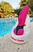 Вибратор-кролик - Adrien Lastic Bonnie & Clyde с пультом LRS, цвет: розовый, фото 4