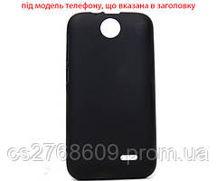 "Чехол / Чохол силікон ""S""  Motorola Moto C (black)"