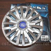 Колпаки на колеса SKS R14 Ford - Колпаки на диски - Модель 217, купить недорого комплект